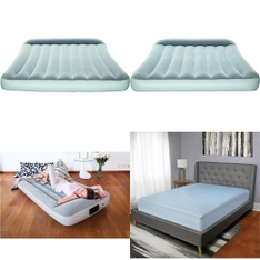 3 Pallets - 76 Pcs - Camping & Hiking, Bedding Sets, Covers, Mattress Pads & Toppers, Comforters & Duvets - Customer Returns - Bestway, Mainstays, Mainstay's, Better Homes & Gardens