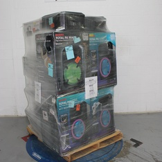Pallet - 12 Pcs - Portable Speakers - Tested NOT WORKING - Ion, Monster, Soundcore, Blackweb