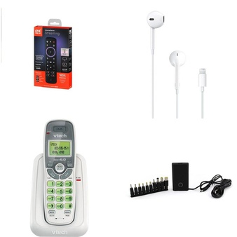 Truckload – 26 Pallets – 9496 Pcs – Accessories, Cordless / Corded Phones, In Ear Headphones, Lamps, Parts & Accessories – Customer Returns – Onn, Blackweb, VTECH, One For All