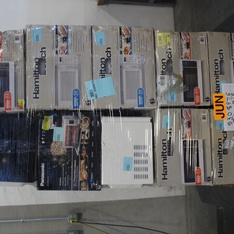 Pallet - 21 Pcs - Microwaves - Customer Returns - Hamilton Beach, Frigidaire