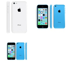 7 Pcs – Apple iPhone 5C – Refurbished (GRADE A – Unlocked) – Models: ME541LL/A, ME543LL/A, ME597LL/A