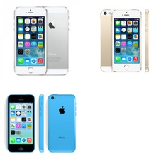 CLEARANCE! 7 Pcs - Apple iPhones - Refurbished (GRADE A, GRADE B, GRADE C - Unlocked) - Models: ME372LL/A, ME597LL/A, ME298C/A
