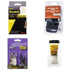 Pallet - 129 Pcs - General Merchandise - Customer Returns - Fix It!, Scotch, Mainstays, Daler Rowney