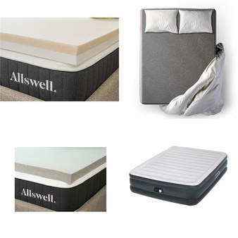 Pallet – 10 Pcs – Covers, Mattress Pads & Toppers – Customer Returns – Allswell, Ayer Comfort