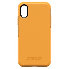 33 Pcs - Otterbox Symmetry Series Case for iPhone Xs, Aspen Gleam (CITRUS/SUNFLOWER) - Like New - Retail Ready