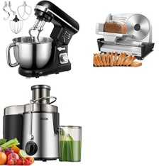 Truckload - 30 Pallets - 896 Pcs - Food Processors, Blenders, Mixers & Ice Cream Makers, Kitchen & Dining - Brand New - Retail Ready - Aicok