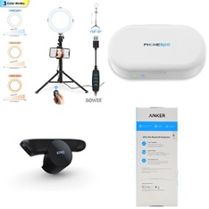 Pallet – 159 Pcs – Other, Keyboards & Mice, Lighting & Light Fixtures, Sony – Customer Returns – Logitech, Bower, Sony, Apple