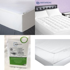 Pallet – 53 Pcs – Covers, Mattress Pads & Toppers, Comforters & Duvets – Customer Returns – Mainstay's, Aller-Ease, Mainstays