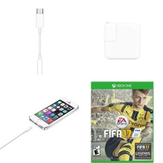 369 Pcs – Other, Microsoft, Power Adapters & Chargers, Apple iPad – Customer Returns – Apple, Electronic Arts, EA SPORTS, Bethesda Softworks