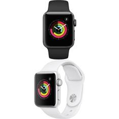 5 Pcs – Apple Watch – Series 3 – 38MM – Refurbished (GRADE B) – Models: MTF02LL/A, MTEY2LL/A