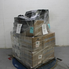 3 Pallets – 908 Pcs – In Ear Headphones, Boombox, Over Ear Headphones, Receivers, CD Players, Turntables – Customer Returns – Blackweb, Onn, Anker, Monster