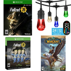 Pallet – 211 Pcs – Microsoft, Patio & Outdoor Lighting / Decor, Games, Other – Customer Returns – Bethesda Softworks, Blizzard Entertainment, Ubisoft, Electronic Arts