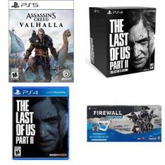 11 Pcs – Sony Video Games – Open Box Like New, New – Assassin's Creed Valhalla (PS5), The Last of Us Part II (PS4), The Last of Us Part II Collectors Edition (PS4), Marvels Avengers Playstation 4