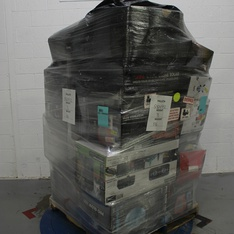 6 Pallets - 887 Pcs - Security & Surveillance, In Ear Headphones, Lighting & Light Fixtures, Accessories - Customer Returns - Merkury Innovations, Sony, As Seen On TV, Monster