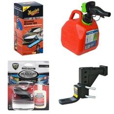 Pallet – 146 Pcs – Automotive Accessories, Automotive Parts – Customer Returns – Meguiar's, Scepter, MaxxHaul, Rust Oleum