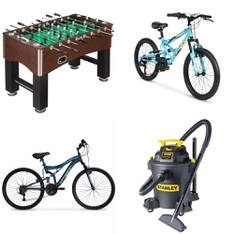 Pallet - 7 Pcs - Cycling & Bicycles, Game Room - Customer Returns - Hyper Bicycles, Hathaway, Future Stars, Ozark Trail