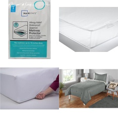 Pallet – 51 Pcs – Covers, Mattress Pads & Toppers, Bedding Sets – Customer Returns – Mainstay's, Mainstays, Aller-Ease, Beautyrest