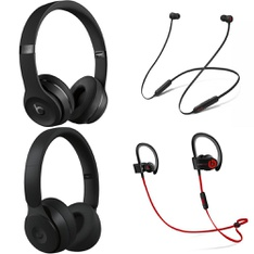 25 Pcs – Mixed Beats By Dre. (Tested NOT WORKING) – Models: MX432LL/A, MRJ62LL/A, MYMC2LL/A, MHBE2AM/A
