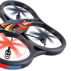 World Tech Toys 35879 Panther SPY Drone UFO Video Camera 2.4GHz RC Quadcopter - Refurbished