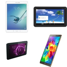 11 Pcs - Tablets -Refurbished (GRADE A) - Samsung, PROSCAN, HIP STREET, RCA