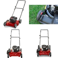 Pallet - 8 Pcs - Mowers - Tested NOT WORKING - Murray