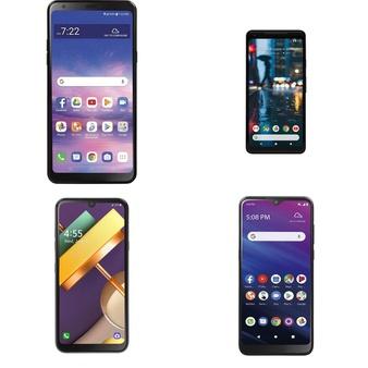CLEARANCE! 50 Pcs – Cellular Phones – Refurbished (GRADE A, GRADE B, GRADE C – Not Activated) – LG, Samsung, TCL, ALCATEL