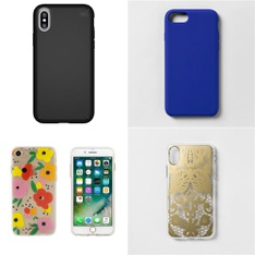 250 Pcs - Cellular Phones Accessories - New - Heyday, LAUT, PopSockets, Speck