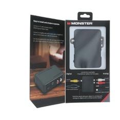 144 Pcs - MONSTER INC Mn Digital/analog Adapt - Like New, Used, Open Box Like New - Retail Ready