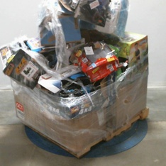 Pallet – 35 Pcs – Vehicles, Trains & RC, Not Powered – Customer Returns – New Bright, Adventure Force, Monster Jam, My Life As
