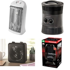 Pallet – 52 Pcs – Heaters – Customer Returns – Mainstay's