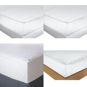 Pallet – 79 Pcs – Covers, Mattress Pads & Toppers – Customer Returns – Mainstay's, Aller-Ease