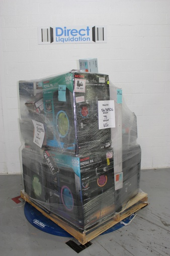 Pallet – 26 Pcs – Speakers, Portable Speakers – Tested NOT WORKING – Ion, Boss Audio Systems, LG, VIZIO