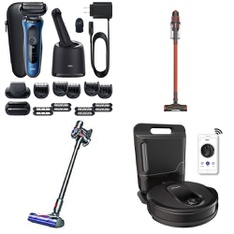 Pallet – 33 Pcs – Vacuums, Home Health Care, Floor Care – Customer Returns – Shark, Braun, Dyson, Icon health & fitness