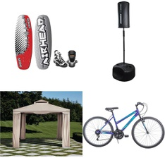 Pallet - 11 Pcs - Cycling & Bicycles, Outdoor Sports - Customer Returns - Ozark Trail, Little Miss Matched, Movelo, GoZone