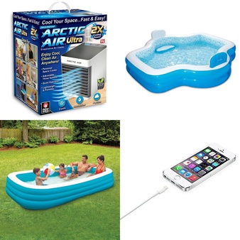 Truckload – 1823 Pcs – Kitchen & Dining, Pools & Water Fun, Camping & Hiking, Humidifiers / De-Humidifiers – Customer Returns – As Seen On TV, Select Surfaces, Play Day, Bestway