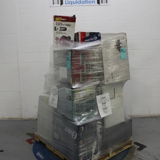 Pallet - 16 Pcs - Air Conditioners, Microwaves, Slow Cookers, Roasters, Rice Cookers & Steamers, Accessories - Tested NOT WORKING - Frigidaire, Hyper Tough, DeLonghi, Hamilton Beach
