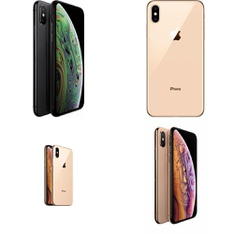 25 Pcs - Apple iPhone XS 64GB - Unlocked - Certified Refurbished (GRADE A)