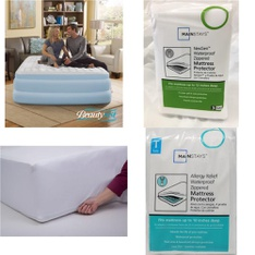 40 Pcs – Covers, Mattress Pads & Toppers, Bedroom, Comforters & Duvets, Bedding Sets – Customer Returns – Mainstay's, Mainstays, Beautyrest