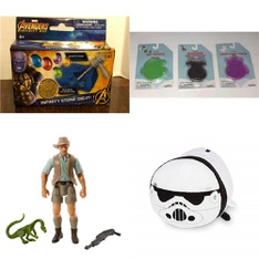 82 Pcs - Toys - Used, New, New Damaged Box, Open Box Like New, Like New - Retail Ready - Marvel, Jurassic World, Disney, Toysmith