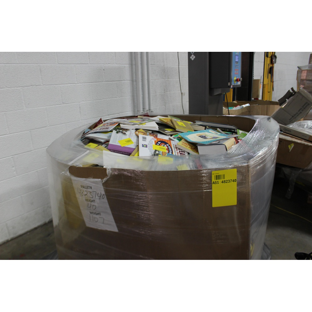 Pallet - 1652 Pcs - Books, Unsorted, Office Supplies - Customer Returns -  Michelin, Independently published, Oxford University Press, Booklocker com,