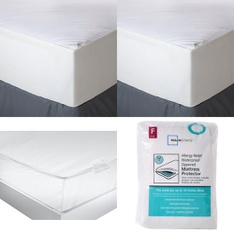 3 Pallets - 213 Pcs - Covers, Mattress Pads & Toppers, Safes, Comforters & Duvets - Customer Returns - Mainstay's, Aller-Ease, American Textile