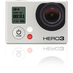 GoPro Hero 3 CHDHN-301 Silver Edition - Refurbished