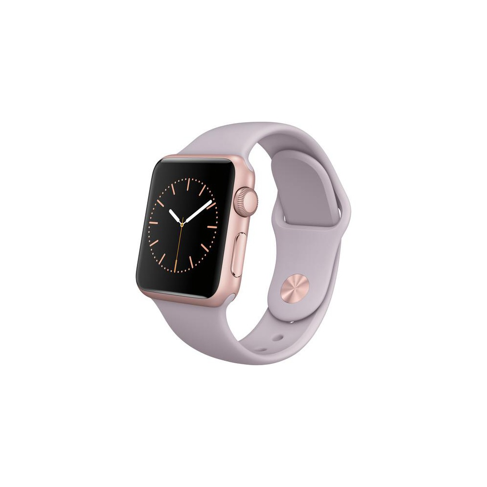 10 Pieces Apple Watch Sport 38mm Rose Gold Aluminum Case Lavender Sport Band Mlch2ll A Smart Watches Directliquidation