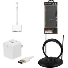 3 Pallets – 2109 Pcs – Other, Accessories, Apple iPad, Cases – Customer Returns – Blackweb, Onn, Apple, GE