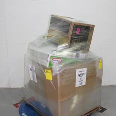 Pallet - 21 Pcs - Accessories, Other, Hot Tubs & Saunas - Customer Returns - Stokes Select, Keter, Little Tikes, Intex