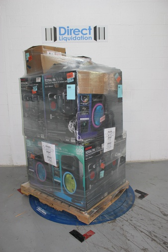 Pallet – 11 Pcs – Portable Speakers – Customer Returns – Ion, Altec Lancing