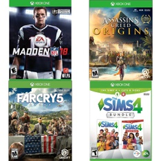 150 Pcs - Video Games - New, Open Box Like New, Used, Like New - Electronic Arts, Ubisoft, U&I Entertainment, Activision