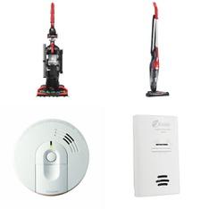 3 Pallets – 272 Pcs – Vacuums, Hardware, Smoke Alarms & CO Detectors – Customer Returns – Kidde, Dirt Devil, PUR, Kaz