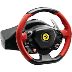 34 Pcs - Thrustmaster 4460105 Ferrari 458 Spider Racing Wheel compatible with Xbox One - Refurbished (GRADE A) - Video Game Controllers