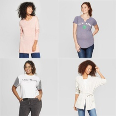 150 Pcs - T-Shirts, Polos, Sweaters & Cardigans - New - Retail Ready - Mighty Fine, A New Day, Universal Thread, Isabel Maternity by Ingrid & Isabel